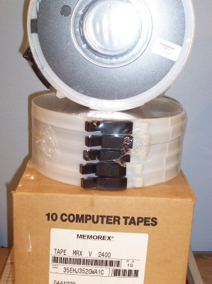 Memorex 9-Track Data Tapes Image